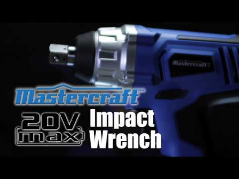 Mastercraft 20 Volt Max Family of Tools From Canadian Tire