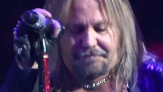 MOTLEY CRUE HOME SWEET HOME VINCE NEIL IN TEARS New Years 2015/16
