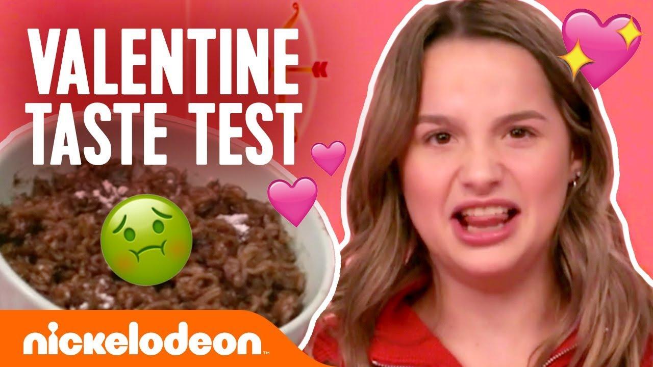 Valentine's Day Taste Test w/ Annie LeBlanc! 💖 | #FunniestFridayEver