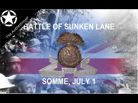 Somme 1 July 1916 - Battle of Sunken Lane - Beaumont-Hamel