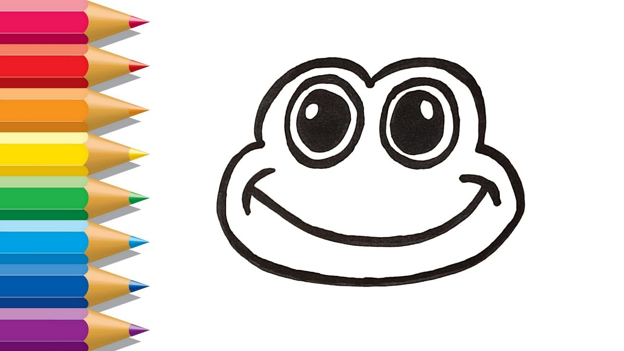 25 Delightful Frog Coloring Pages For Your Little Ones | 720x1280