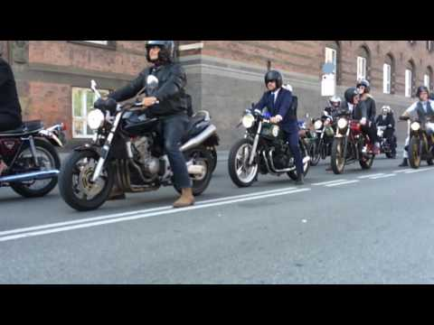 Distinguished Gentleman's Ride 2016 - Copenhagen - The start