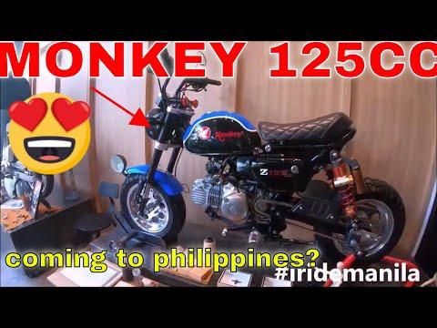 Honda Monkey 125cc Coming To Philippines Please Youtube