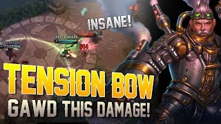 TENSION BOW TONY DOING WORK!! Vainglory [5v5] Ranked - Tony |WP| Top Lane Gameplay