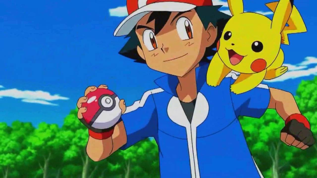 Image result for ash and pikachu