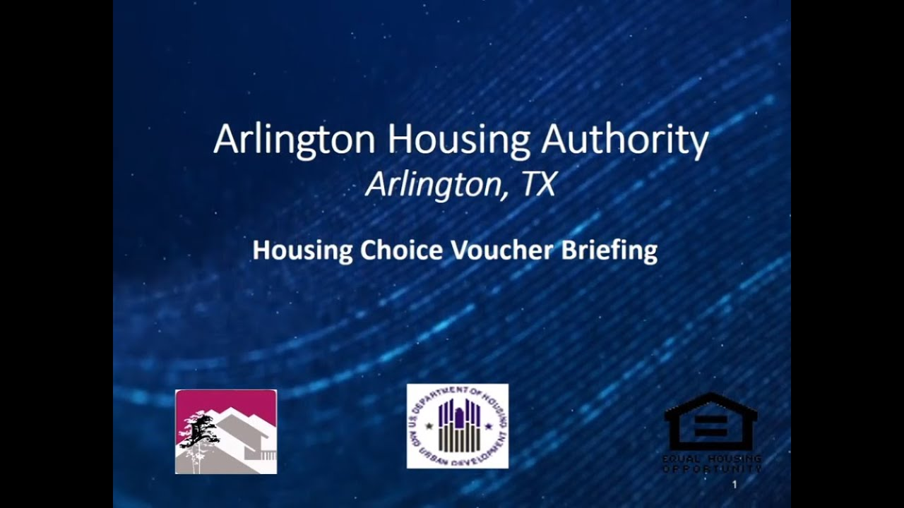 Housing Choice Voucher Program - City of Arlington