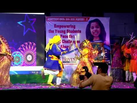 Garbha dance by Grade 5 Students (Kudi Sharmayi , Muskayi)