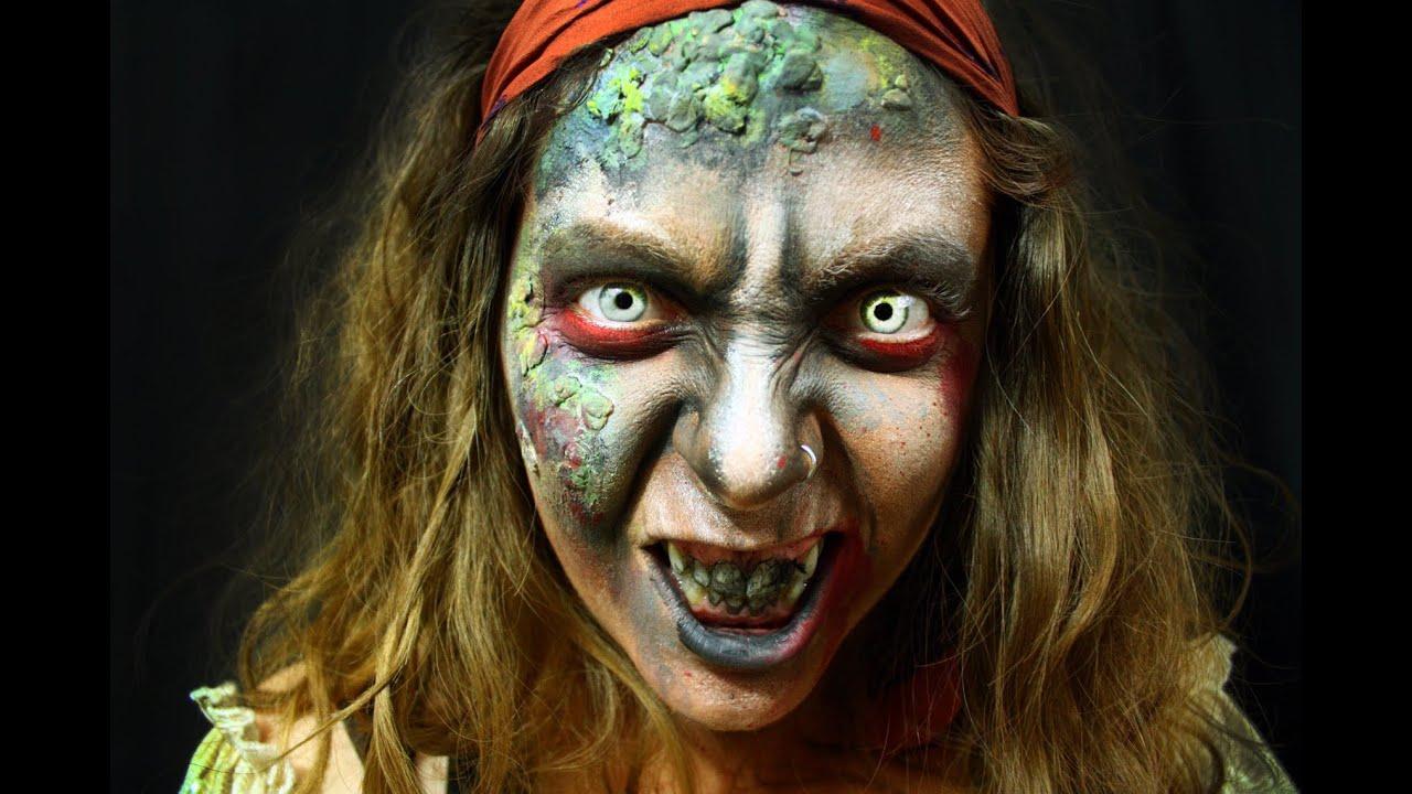 Uncategorized Pirate Faces maquillage de fantaisie zombie pirate face painting youtube