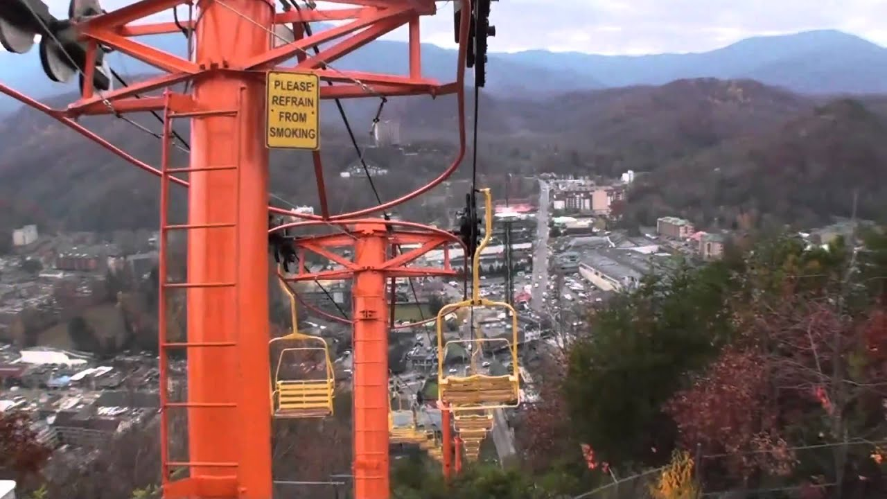 Beautiful Gatlinburg Sky Lift HD   YouTube