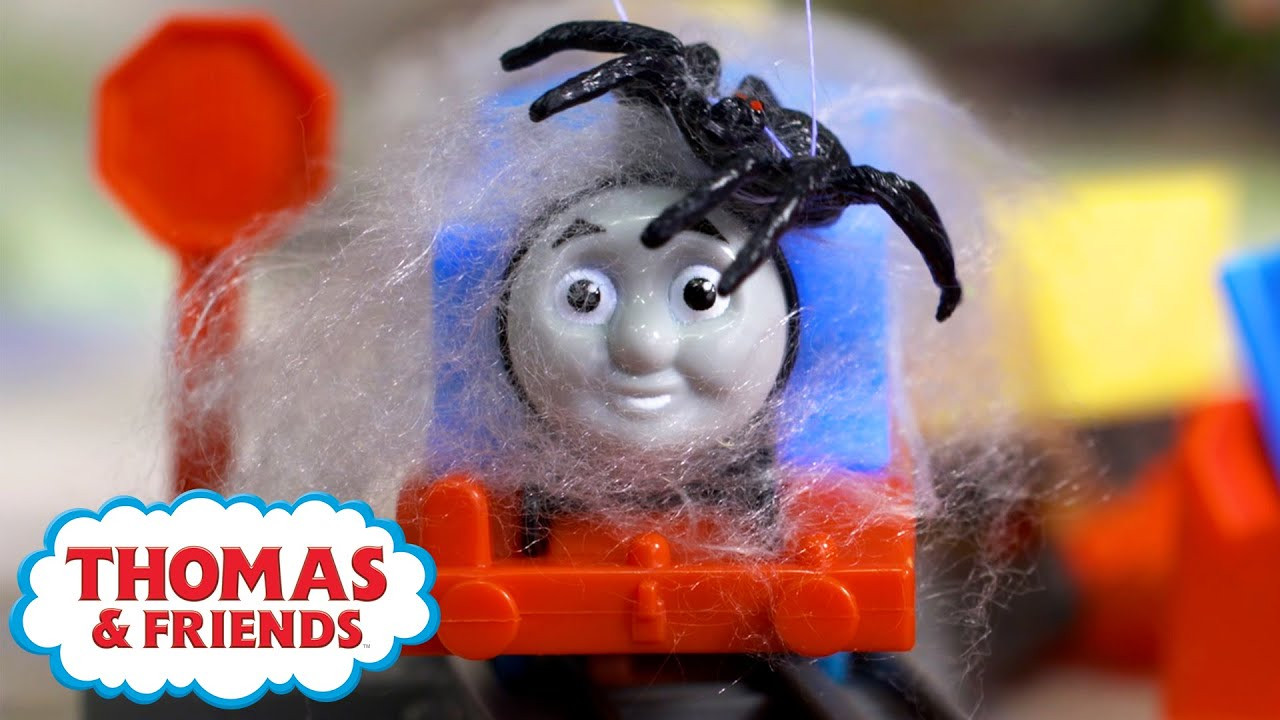 Watch Out, Thomas! - The Spiders   +more Kids Videos   Thomas & Friends™