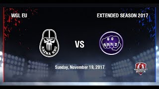 World of Tanks - Kazna Kru vs GoHard - WGLEU Extended Season 2017 - Semi Final