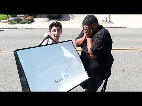 SHOCKING MY BEST FRIEND WITH $5,000 OF GUCCI!! **EMOTIONAL**