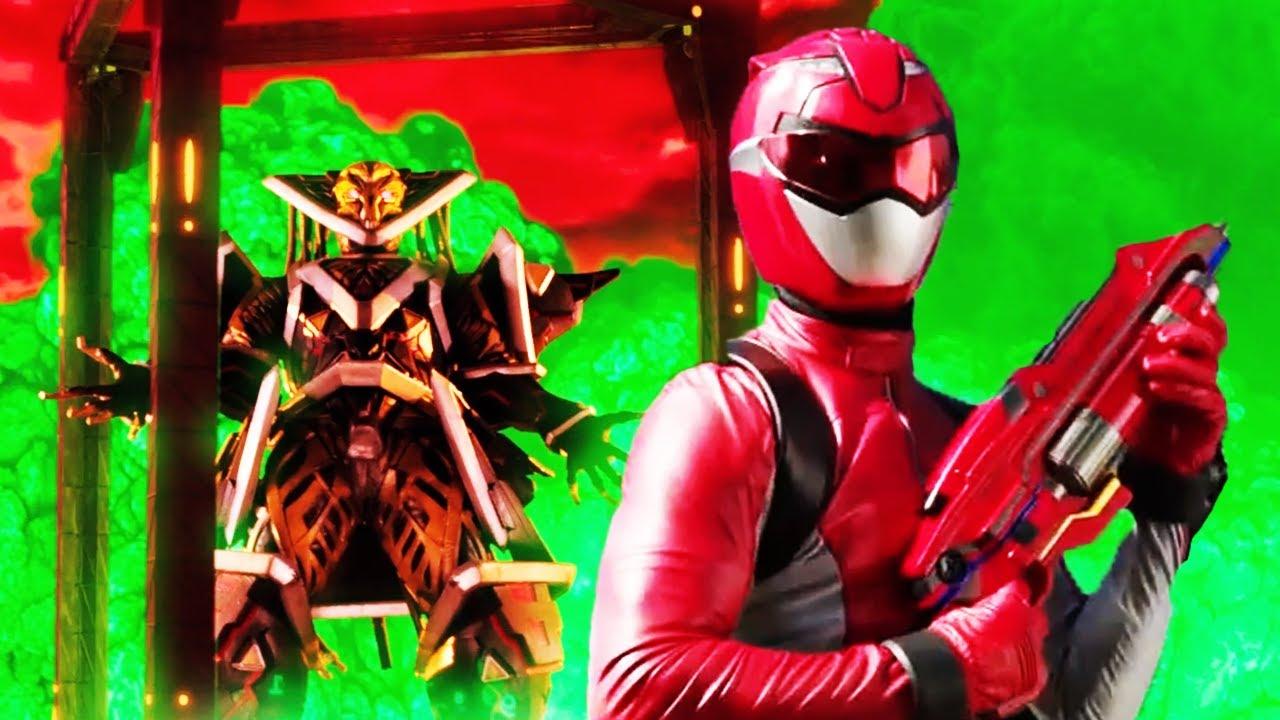 Download Red Ranger Vs Evox | Beast Morphers Season | Power Rangers Official