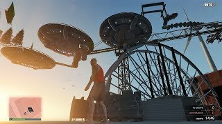 OVNIS EN GTA V - SUPER PARKOUR!