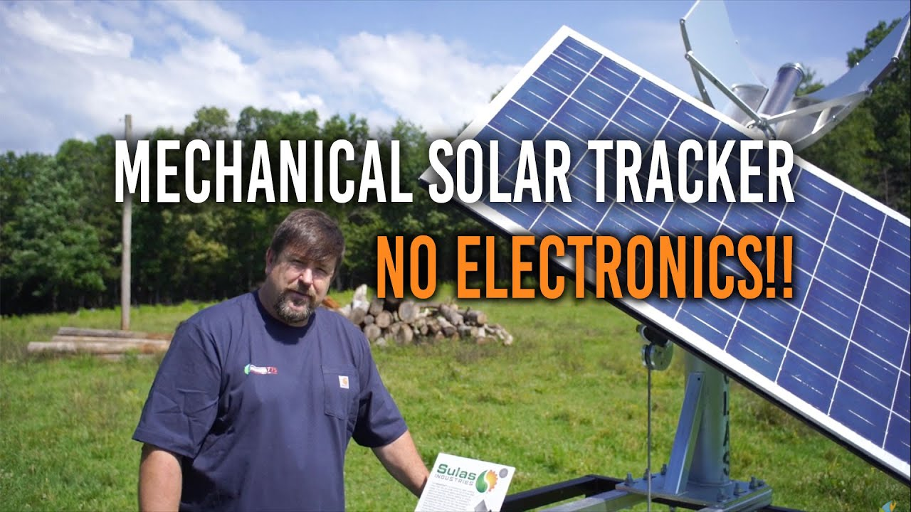 Popular Engineer775 YouTube Channel Reviews Demo of Pursuit Solar Tracker