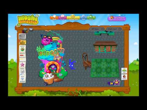 Moshi Monsters Cupcake Hut Cheats