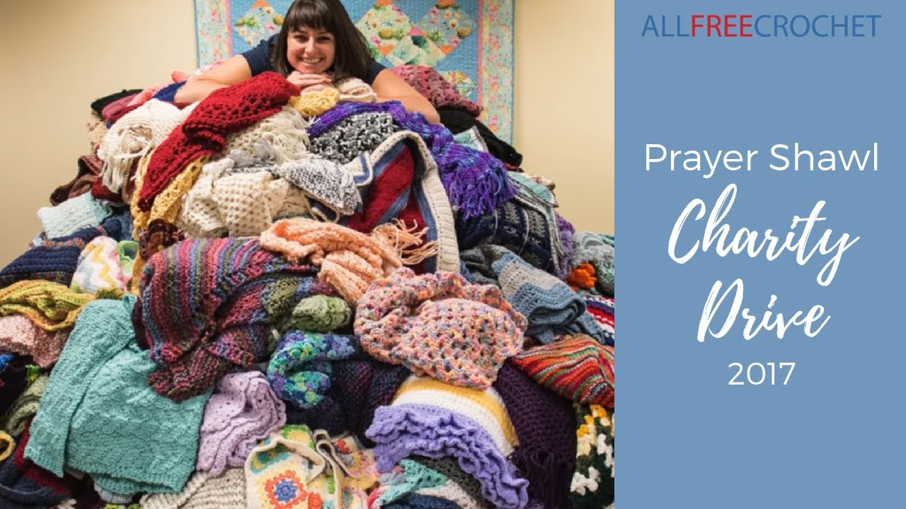 Prayer Shawls for Rush Charity Drive | AllFreeCrochet com