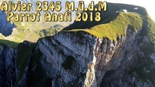 Alvier 2345 M ü d M  Parrot Anafi 2018