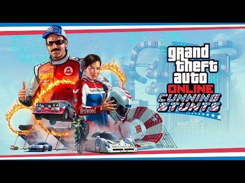 "Trailer de GTA Online ""CUNNING STUNTS"""