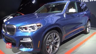2019 BMW X3 M40i - Exterior And Interior Walkaround - 2018 LA Auto Show