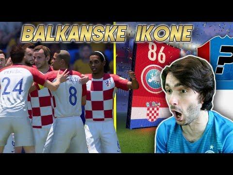OVAKVU EKIPU NISTE NIKADA VIDJELI!! Balkanske Ikone #19 FIFA 18