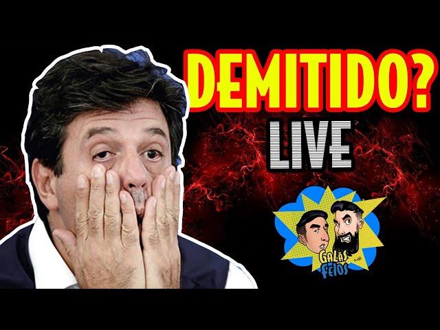 MANDETTA DEMITIDO? (Live da quarentena) | Galãs Feios