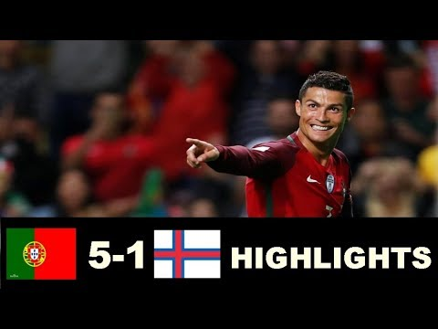 Download Portugal vs Faroe Islands 5-1 & Highlights - World Cup Qualifiers 31/08/2017