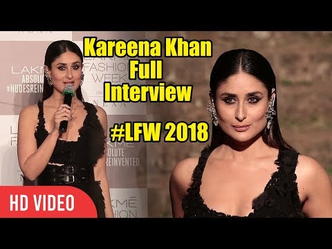 Kareena Kapoor Full   Lakme Fashion Week 2018 Grand Finale  LFW2018 Finale