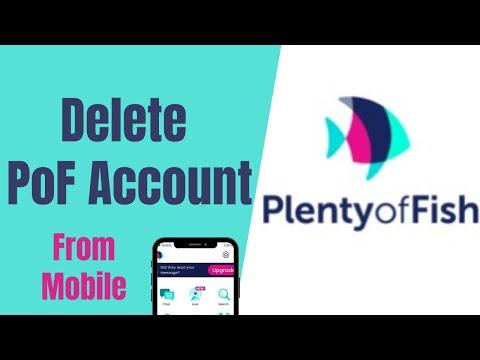 How To Delete POF Account On Mobile   Plenty Of Fish