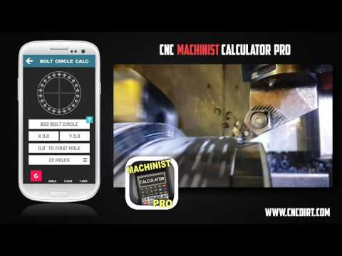 CNC Machinist Calculator Video shows how simple it is