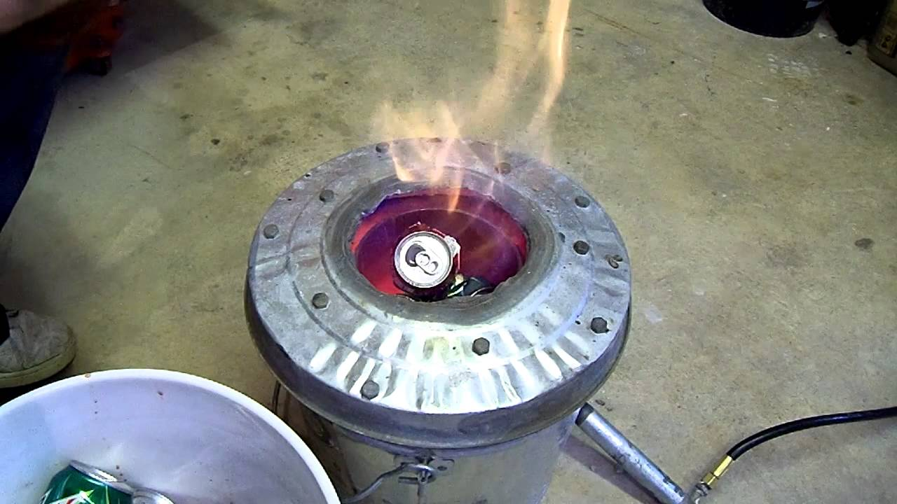 Watch How to Melt Aluminum video