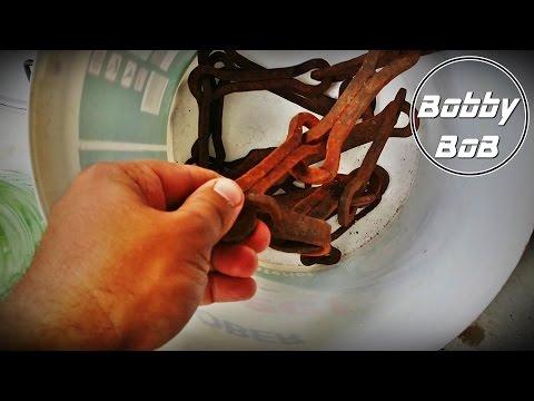 Curatare rugina cu OTET /  Rust removal with vinegar