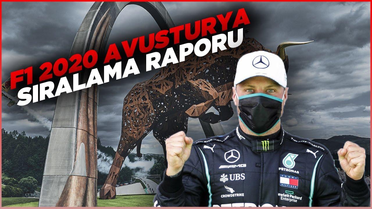 F1 2020, Avusturya GP Sıralama Raporu: Bottas rekor dereceyle pole aldı, Ferrariler döküldü!