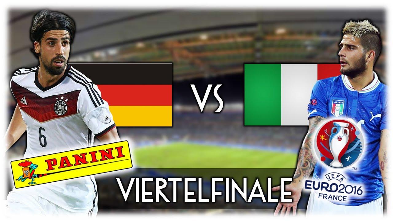 Viertelfinale Deutschland Italien