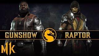 AMAZING JAX GAMEPLAY - Gunshow vs. Raptor