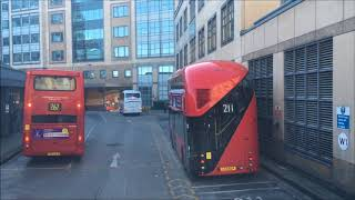 FULL ROUTE VISUAL | London Bus Route 190 - West Brompton to Richmond | VW1070 (LK60AEU)