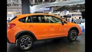 Кроссовер Subaru XV 2016-2017 обновился подвеской и интерьером
