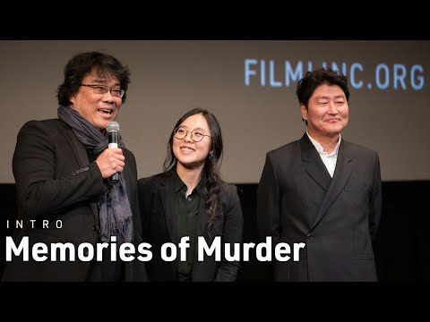 Bong Joon Ho & Song Kang Ho Introduce Memories of Murder