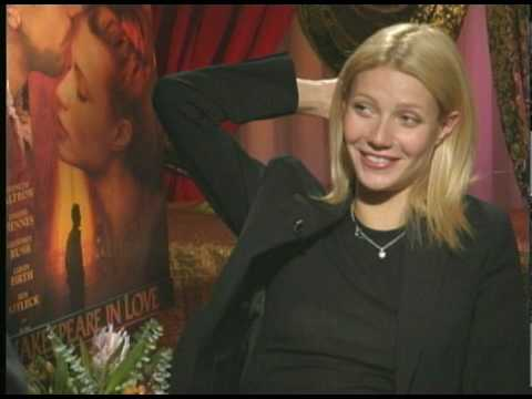 "Gwyneth Paltrow talks to Joe Leydon about ""Shakespeare..."""