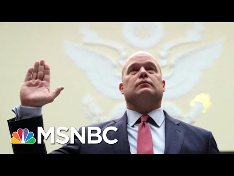 Ex-DOJ Official: Whitaker Testimony 'An Embarrassment To The DOJ' | The Last Word | MSNBC