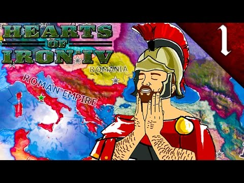 THE ROMAN EMPIRE! HEARTS OF IRON 4: THE ROMAN EMPIRE MOD EP. 1