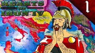 THE ROMAN EMPIRE HEARTS OF IRON 4 THE ROMAN EMPIRE MOD EP. 1