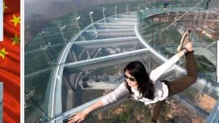 China inaugura impresionante mirador de cristal