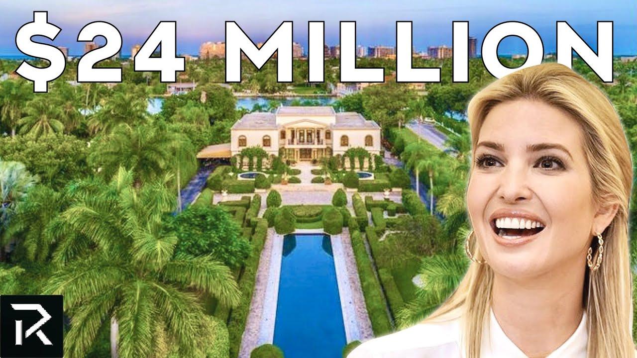 Ivanka Trump's $24 Million Dollar Mansion on