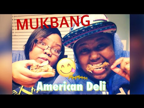 Cringy Mukbang| American Deli Dinner With RnB