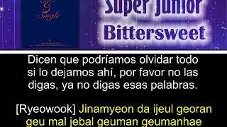Super Junior - Bittersweet [Letra Sub Esp + Rom]