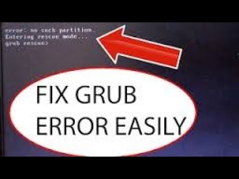 How to fix grub error 15 in windows 7 (HINDI/URDU)
