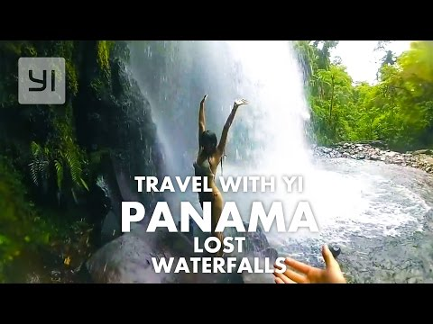 Lost Waterfalls in Panama Boquete #YICamera | YI 4K
