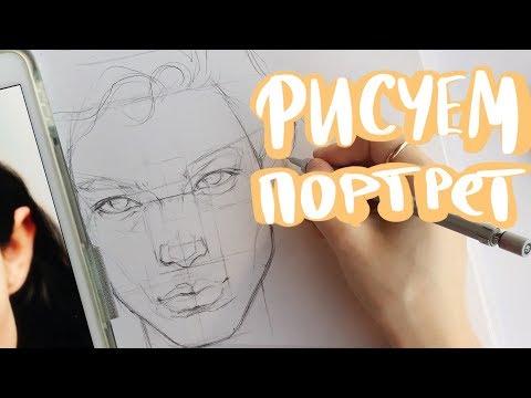 Вопрос: Как рисовать портрет?
