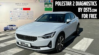 POLESTAR 2 Diagnostics with VDASH - FREE! - D5T5.com